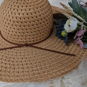 Casual Chic Straw Hat